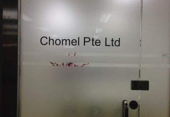 CHOMEL PTE LTD AT SHAW 00001