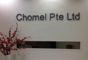 CHOMEL PTE LTD AT SHAW 00002